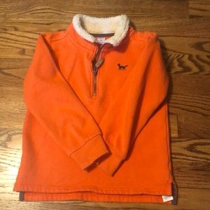 Carters half zip pull over